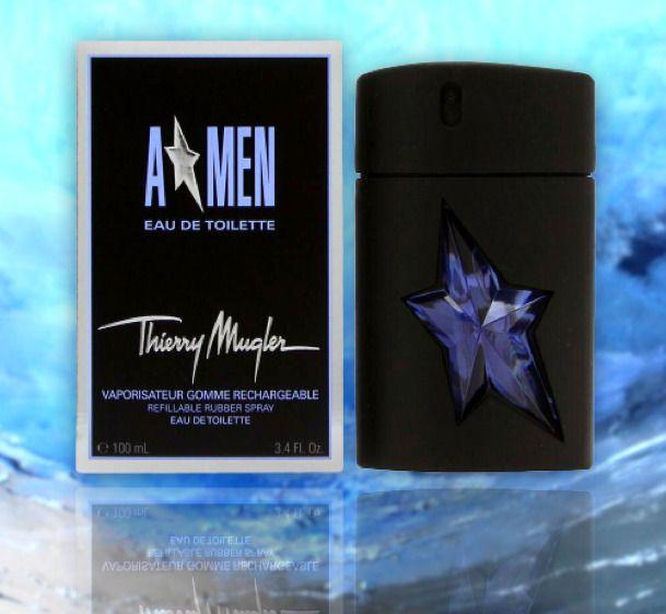 Angel Cologne Thierry Mugler Men Perfume 3 4oz 100ml Edt Eau De