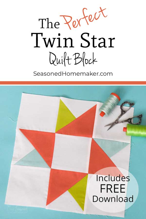 Learn How to Make a Twin Star Quilt Block
