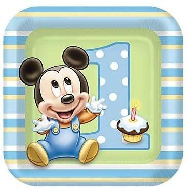 Primer cumplea os de mickey en pinterest mickey mouse de - Cumpleanos de bebes ...