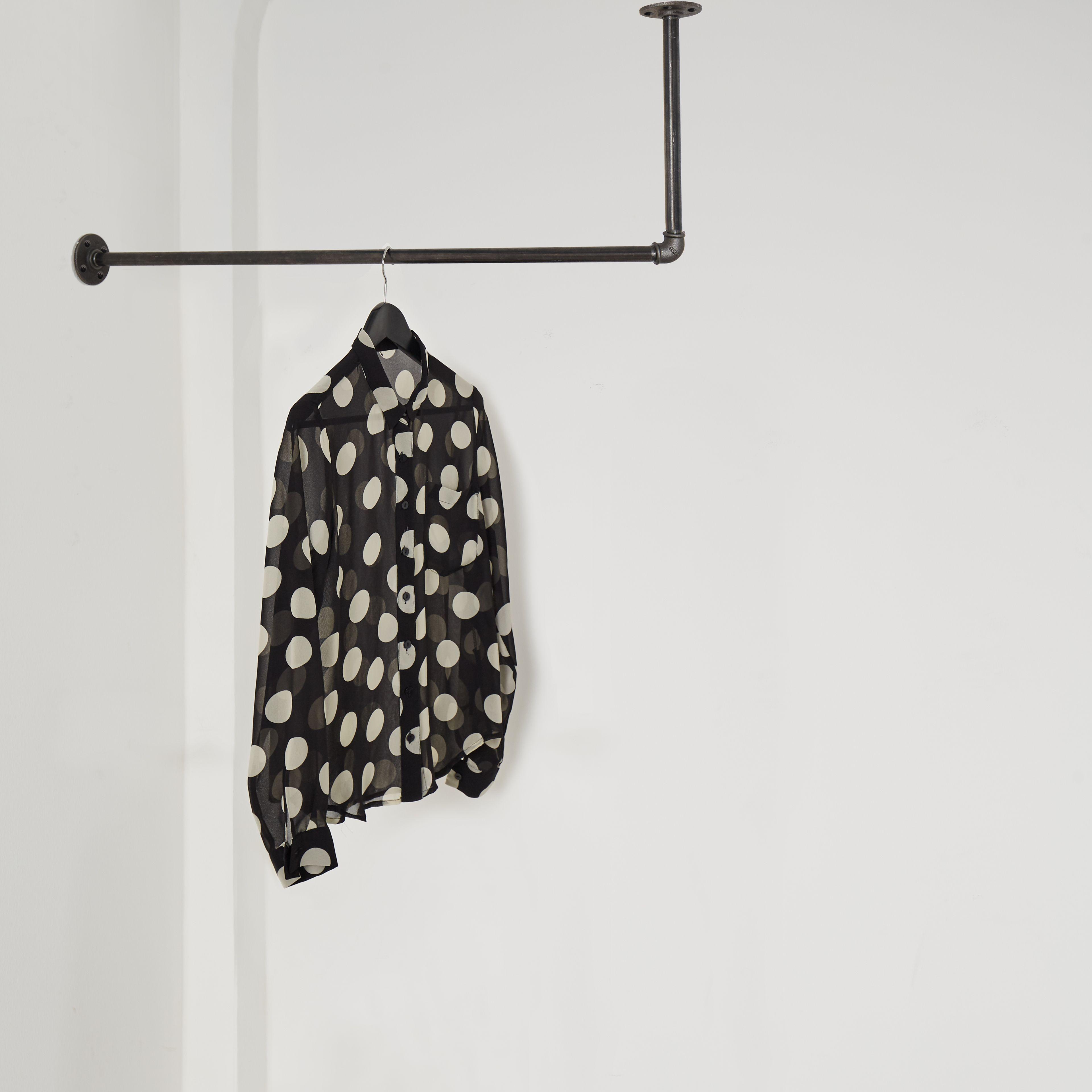 Garderobe Garderobenstange Industrial Industriedesign Lform