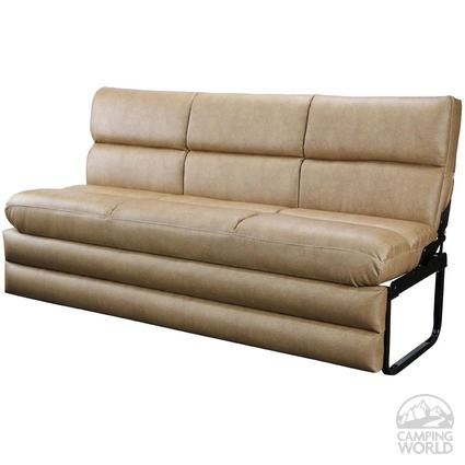Jack Knife Sofa With Legs And Kick Board 64 Rv Organization