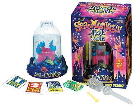Sea Monkeys Sea Monkeys Magic Castle Retro Toys