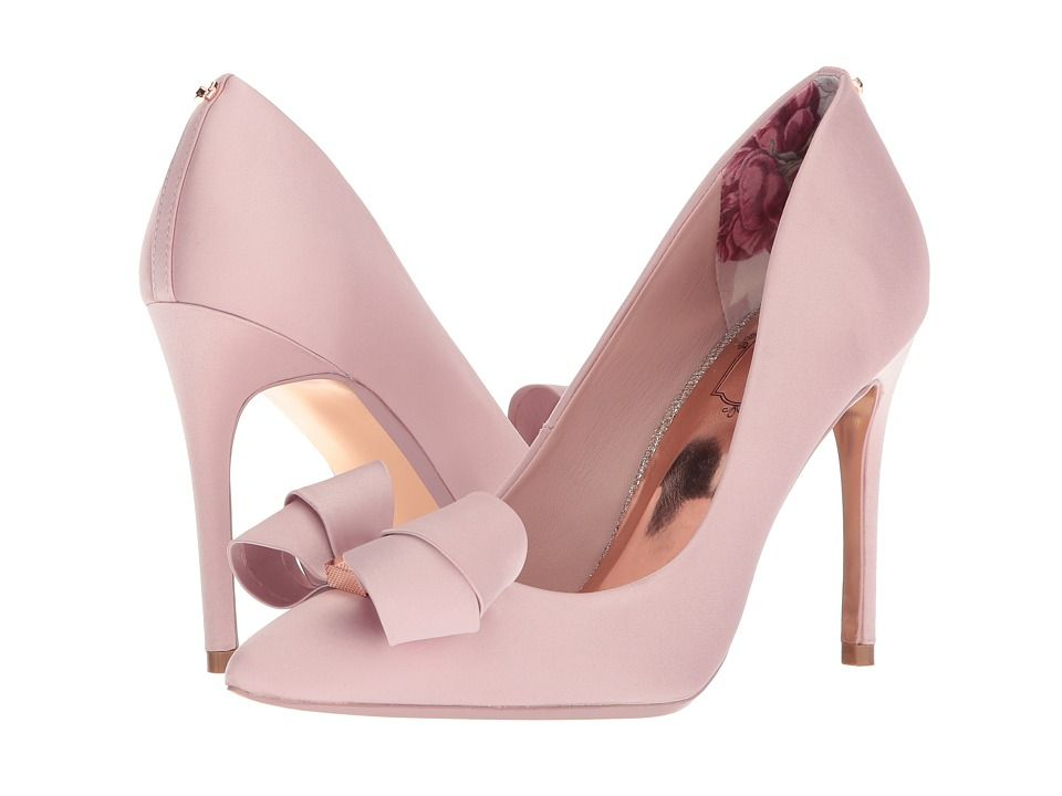 ted baker pink floral heels
