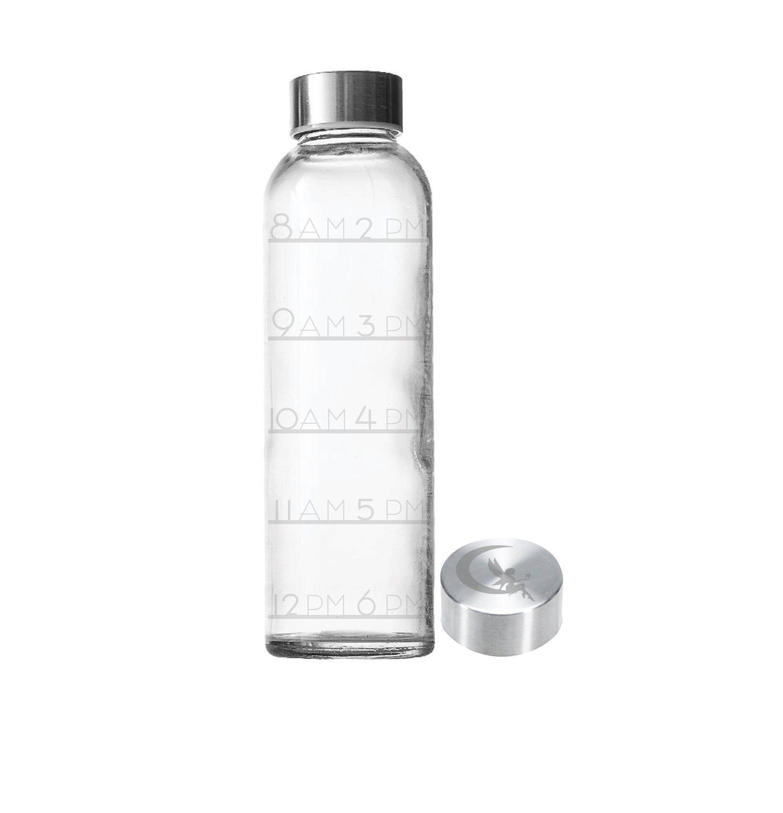 Etched 18oz Water Tracker Small Glass Bottle Etsy Small Glass Bottles Bottle Glass Bottles
