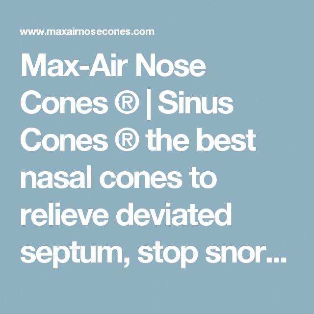 max air nose