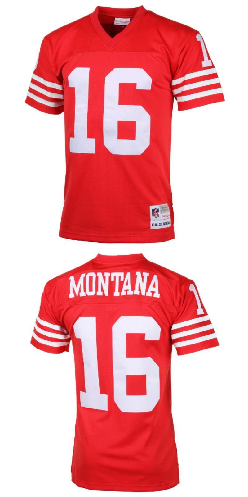 best website 661e3 12822 UP TO 70% OFF. Joe Montana San Francisco 49ers Mitchell ...