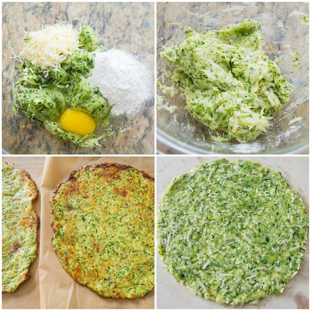 Zucchini Pizza Crust (Low Carb Recipe) - Kirbie's Cravings