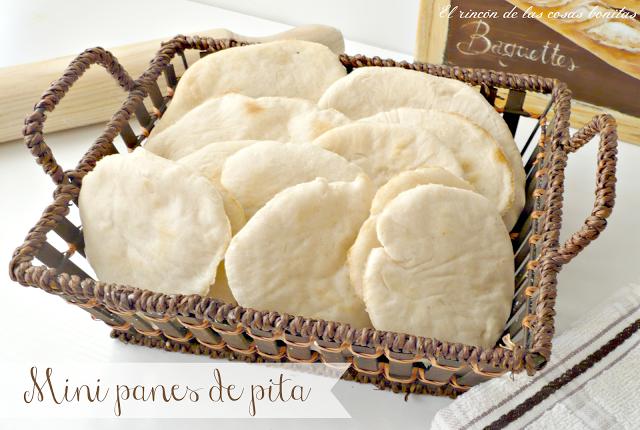 Mini panes de pita- El rincón de las cosas bonitas