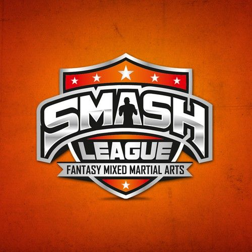 Smash League -- sports logo (MMA) Design by bo_rad