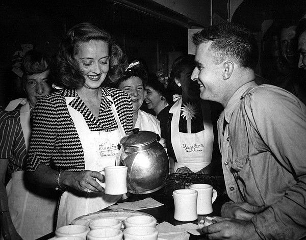 Young Bette Davis | Hollywood Canteen