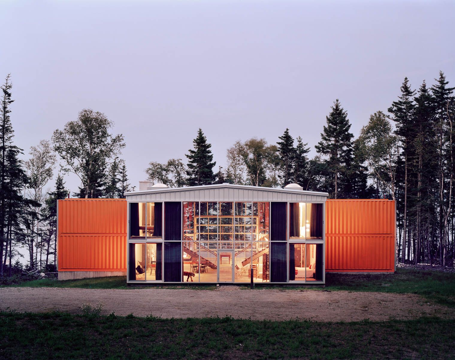 Best Kitchen Gallery: 12 Container House In Blue Hill Maine Idea Sgn By Adam Kalkin 2 of Kalkin Shipping Container Homes  on rachelxblog.com