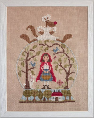 Le petit chaperon rouge little red riding hood jardin for Jardin prive