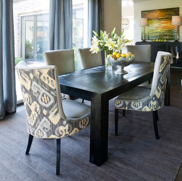 HELLO METRO Design Defined #IKAT Ethnic Style Pinterest House - Beautiful Dining Rooms