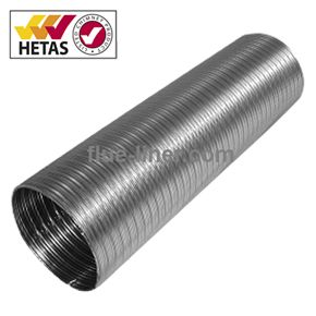 Ds Flue Liner 316l 904l Grade Solid Fuel 100mm 4 Inch Multi Fuel Flexible Liner Made From 904l Grade Stainless Steel On The Stainless Steel