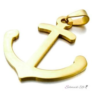 """3 Anhänger /""""Anker/"""" antik gold"""