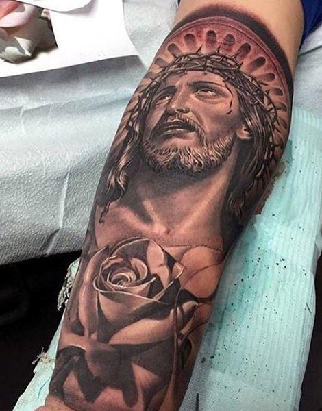 Top 101 Jesus Tattoo Ideas - [2021 Inspiration Guide]