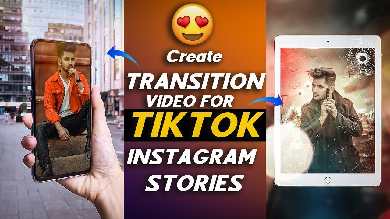 Create Amazing Transition Video For Tiktok And Instagram Stories Create Photo Slideshow Focovideo Instagram Story Create Photo Photo Slideshow