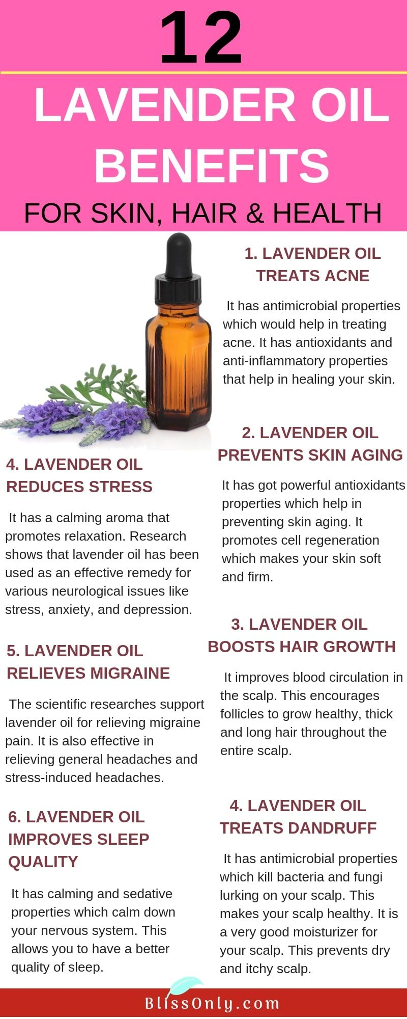 12 Lavender Oil Benefits For Skin Hair And Health In 2020 With