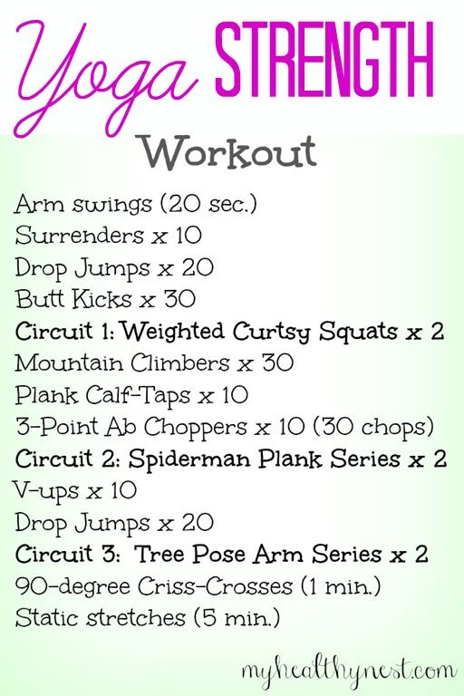 Yoga Strength 2