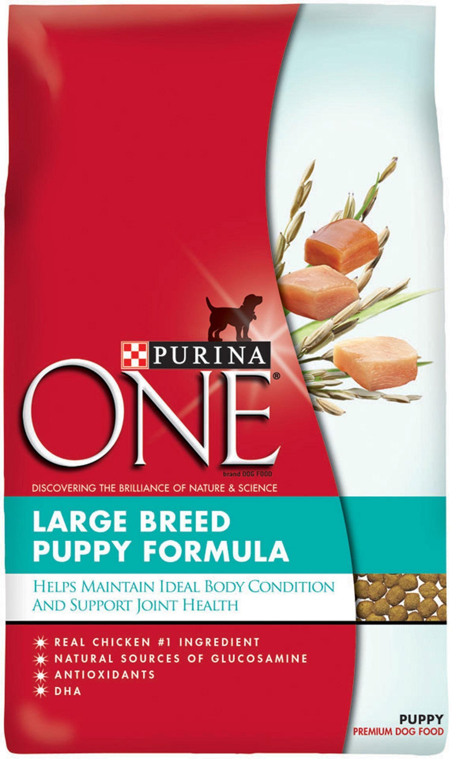 Purina ONE Large Breed Puppy Formula Dry Dog Food Dog