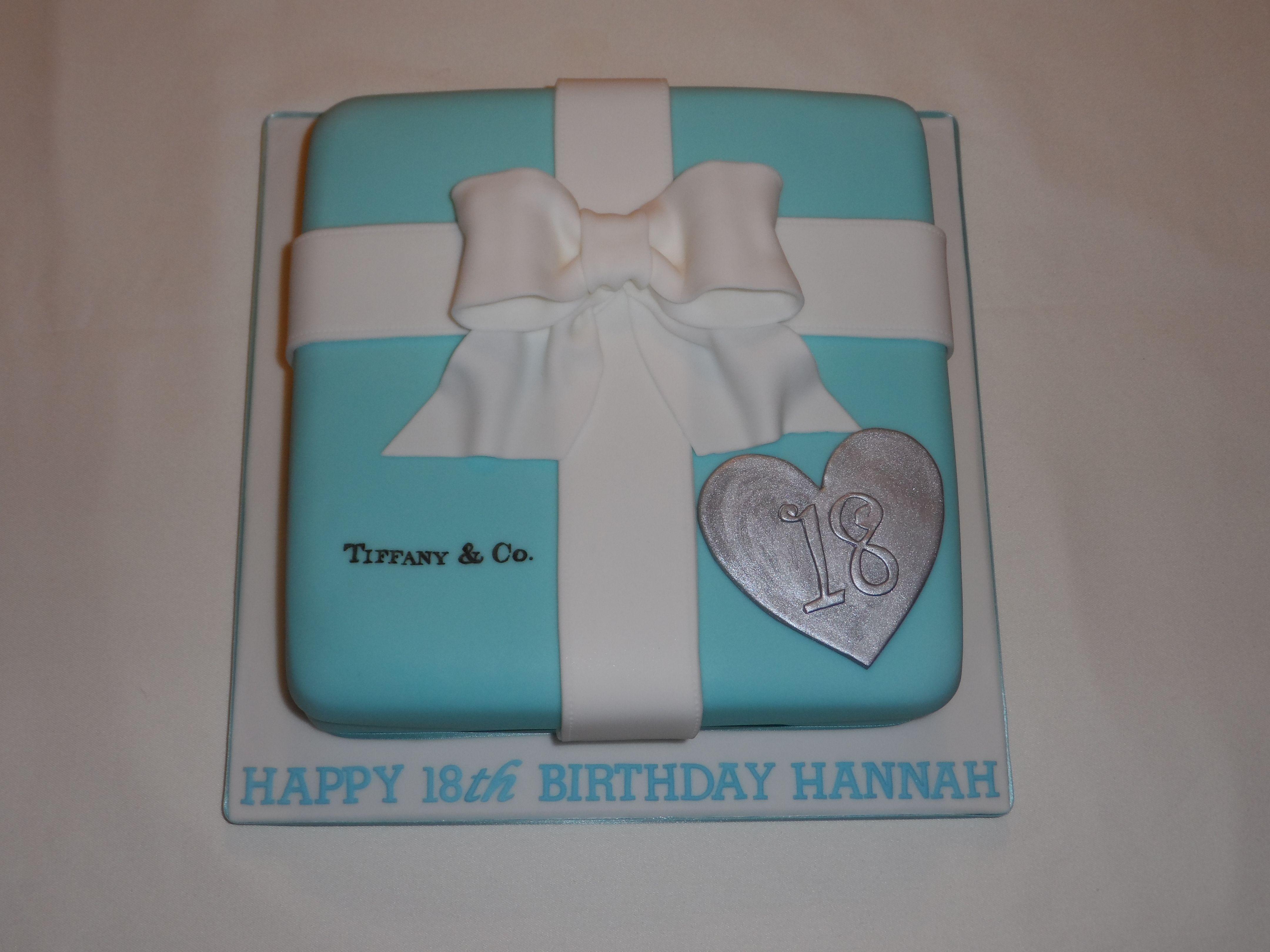 Tiffany 18th Birthday Cake #cavendishcakes