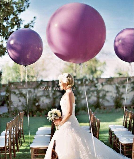 15 PZ 90cm (36 pollici) grande matrimonio proposta festa palloncini, palloncino gigante