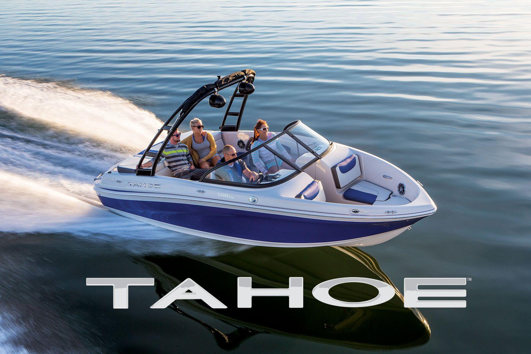 Brand new 2015 model sport boat tahoe 500 ts exclusive