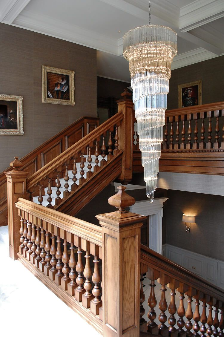 Best Grand Oak Staircase And Hall Project 1175 Staircase 640 x 480