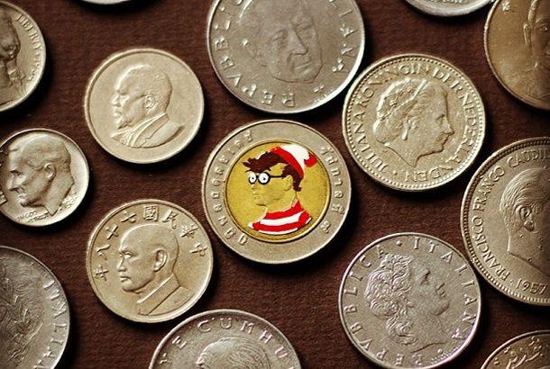コインに描くポートレイト | roomie(ルーミー)