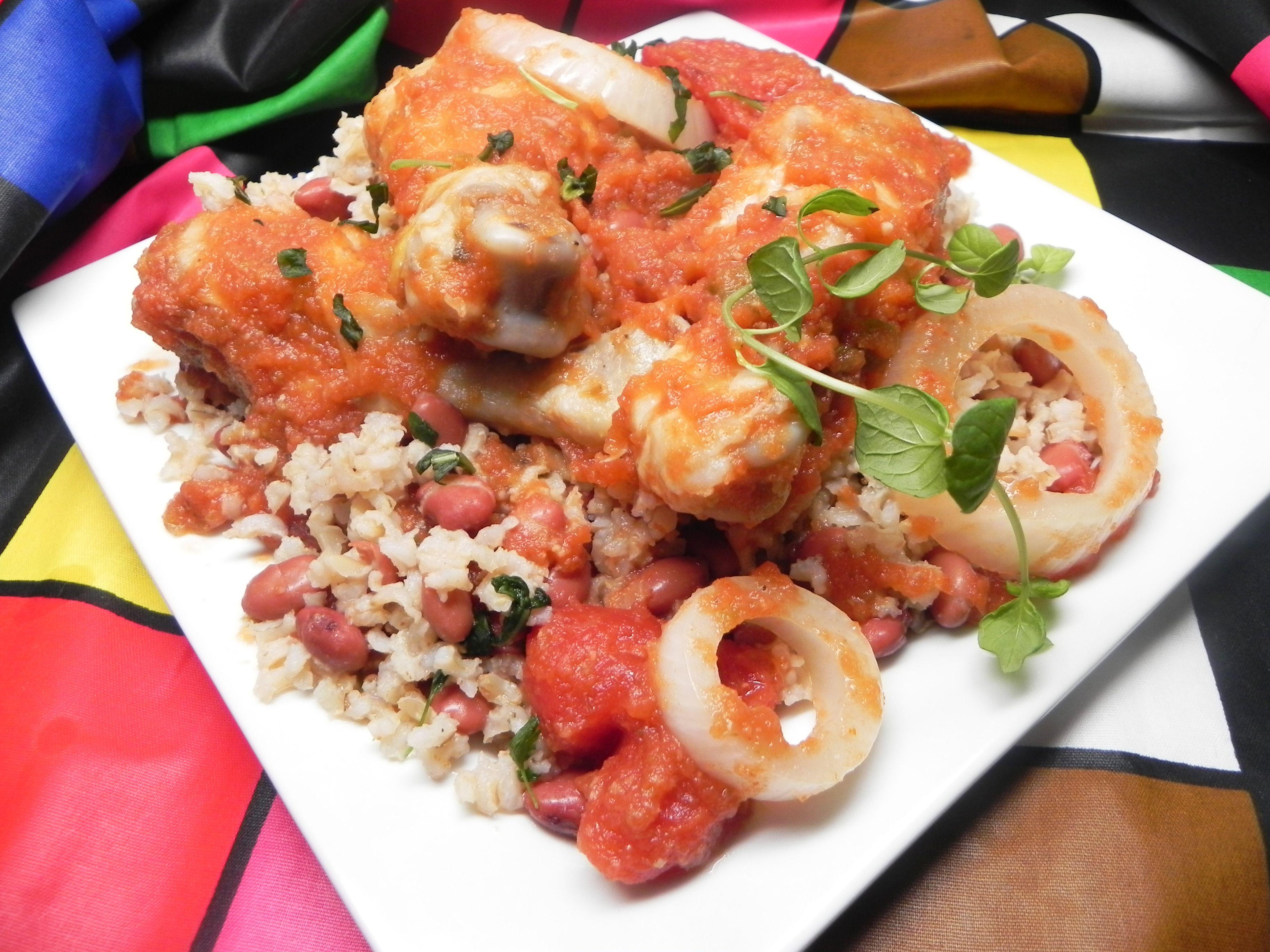 Zimbabwe African Chicken Stew Recipe Chicken Stew Stew Dinner African Food