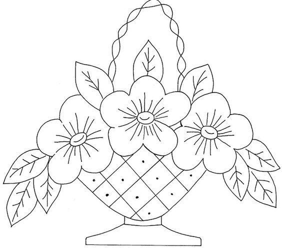 Resultado De Imagen Para Dibujos De Flores Para Bordar Needlepoint