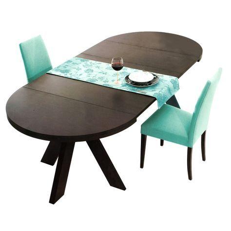Mesa redonda extensible de comedor haz mesa extensible redonda de comedor kaz mesa - Mesa comedor redonda extensible ...