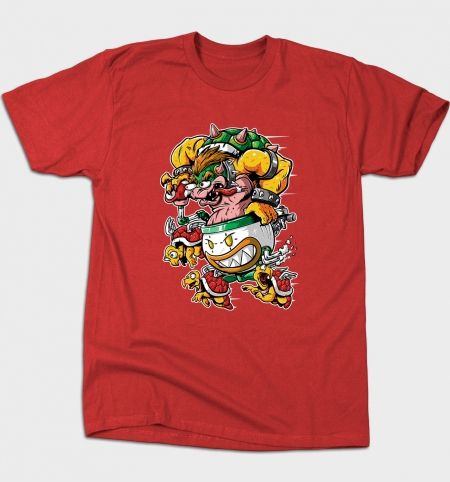 Boss Fink T-Shirt - Super Mario Bros T-Shirt is $12 today at Busted Tees!