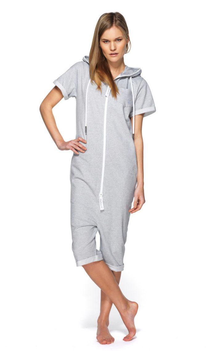 1e611b9e3224c0 Boombox Onesie Grey Melange | Loungewear | Onesies, Jumpsuit, One piece