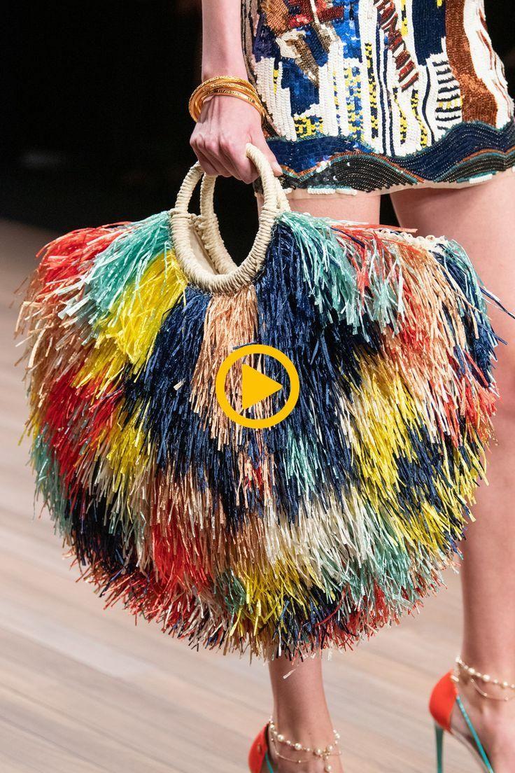 Elisabetta Franchi At Milan Fashion Week Spring 2020 Details Runway Photos Fashion Week Spring Fashion Runway Fashion Couture