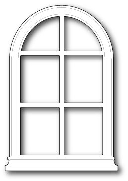 Grand Madison Arched Window Window Crafts Arched Windows Window Cards