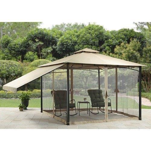 11\'x11\' Outdoor Gazebo Patio Backyard Furniture Canopy Top Tent ...