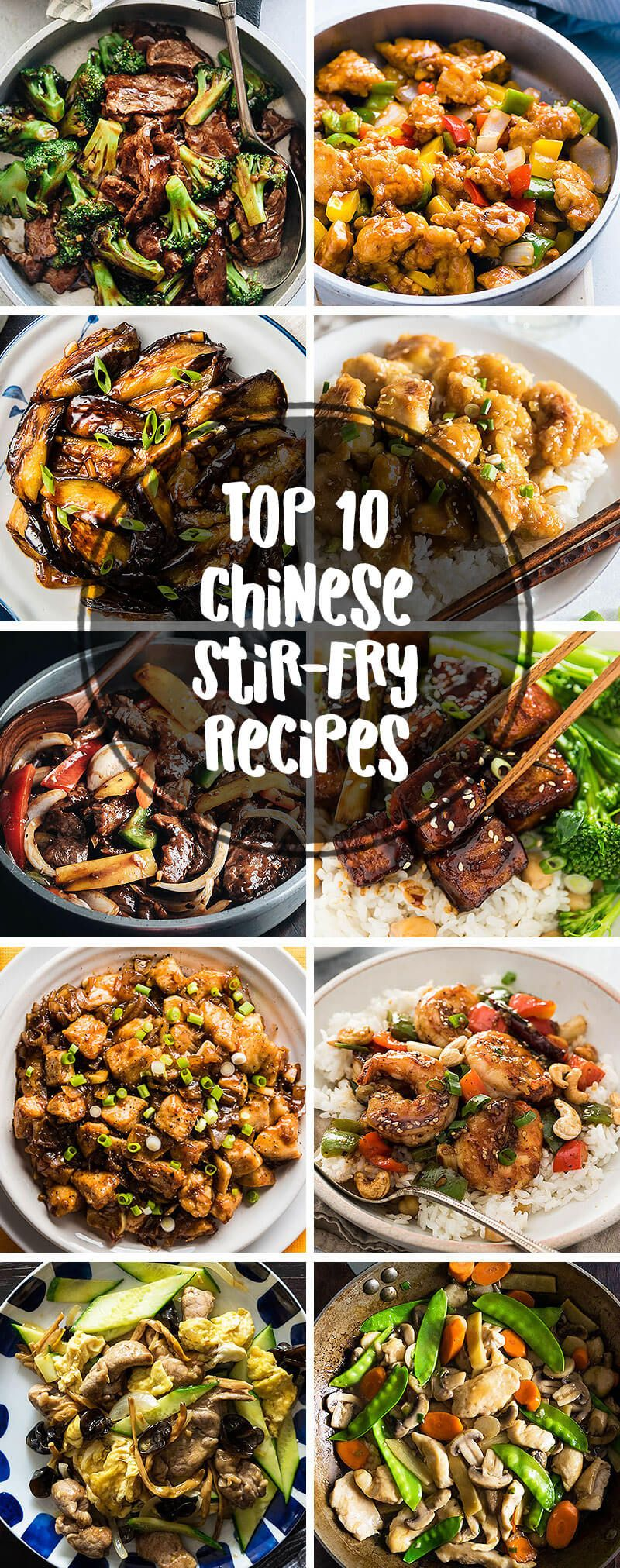 Photo of Top 10 Popular Chinese Stir Fry Recipes