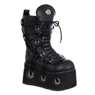 ( 145) Demonia Furious 201 Gothic Platform Boots 58137cec43