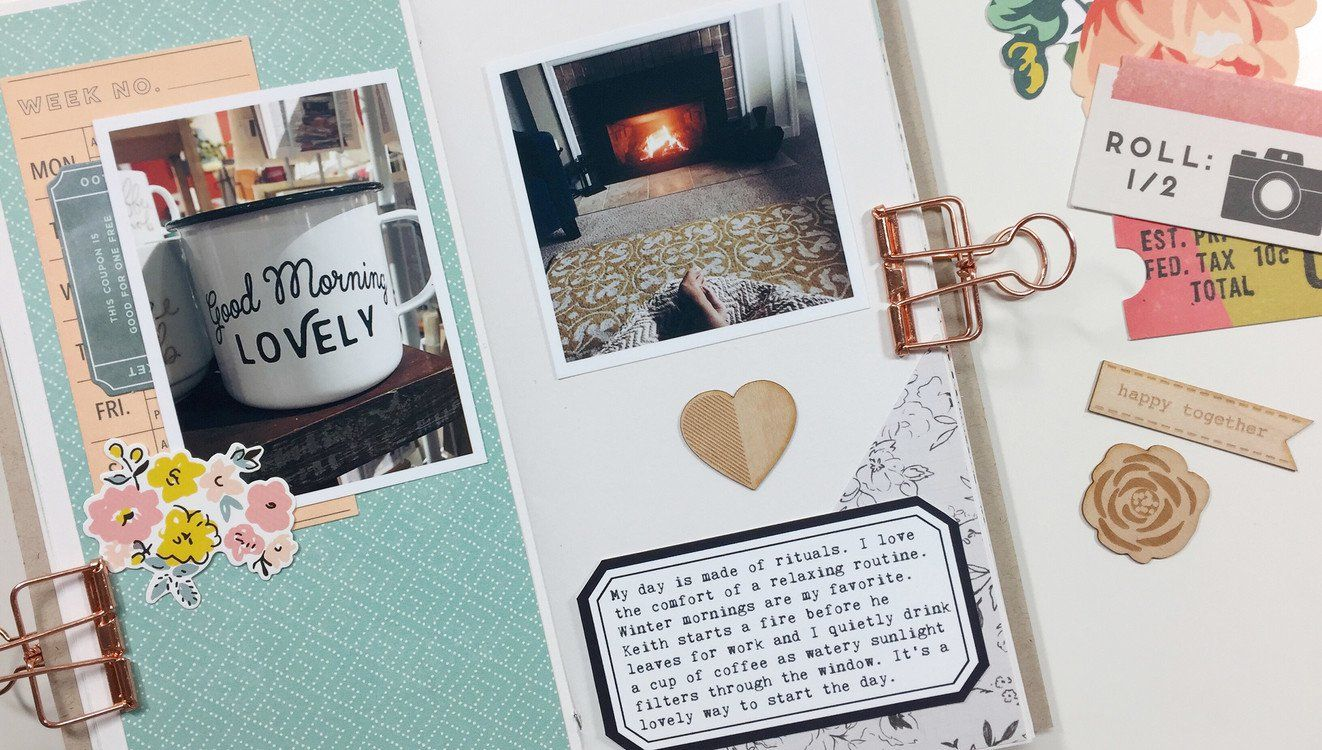 Simple Techniques for Scrapbooking in a Traveler's Notebook at Big Picture Classes