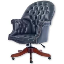 Photo of Executive armchair winner made of real leatherWayfair.de