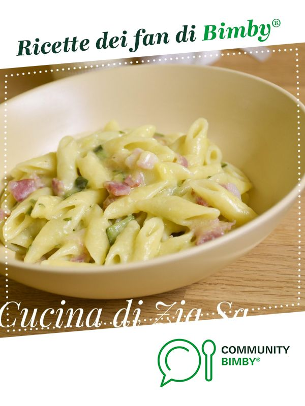 Photo of Pancetta and zucchini risotto pasta is a recipe created by …