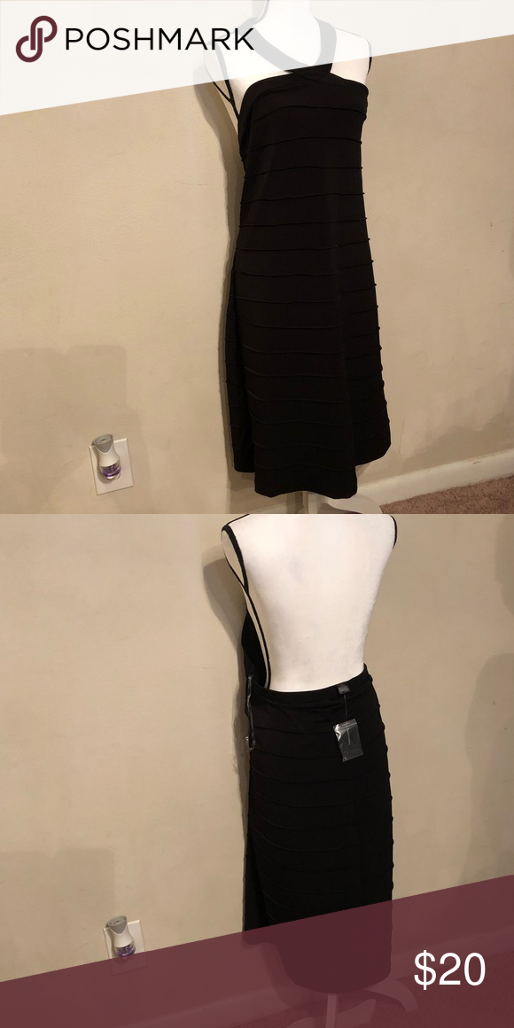640f956ebc6 Black dress dream Beautiful halter black dress Ashley Stewart Dresses Mini