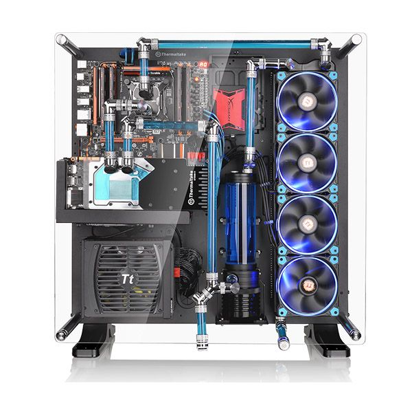 Thermaltake Core P5 Atx Wall Mount Chassis Take Presentation To The Next Level With The Core P5 Open Frame Chassis Gaming Computer Custom Pc Computer Case