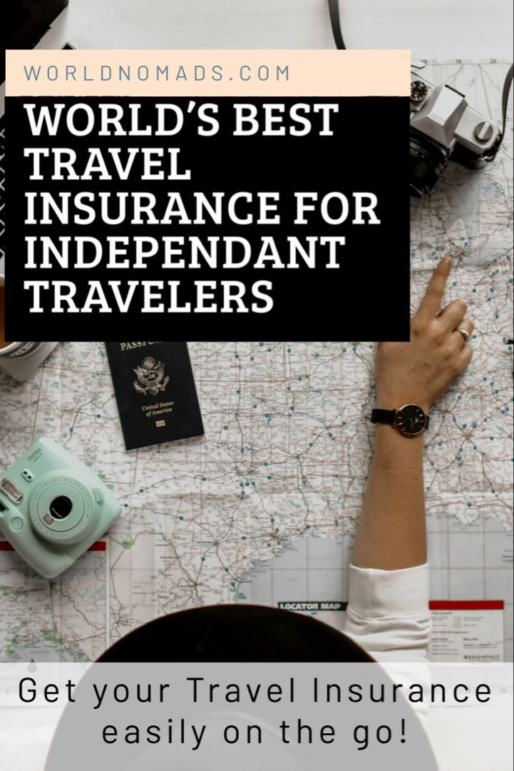 Get your travel insurance easily on the go from the World