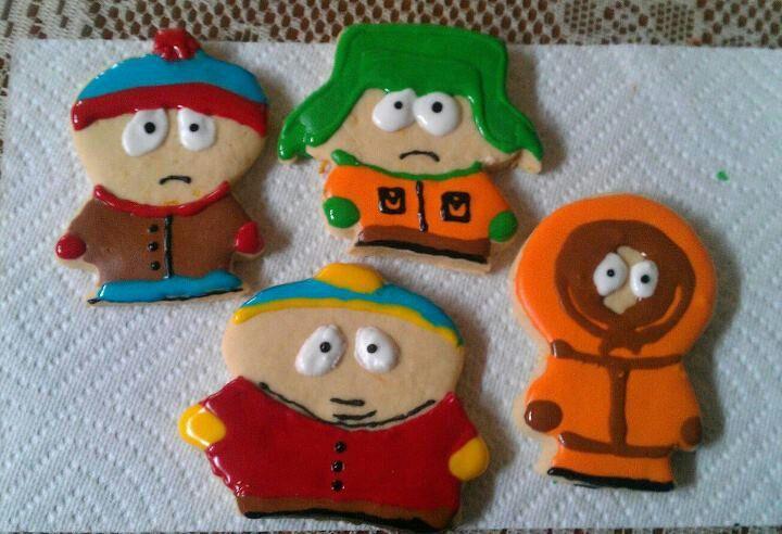 South park cookies.