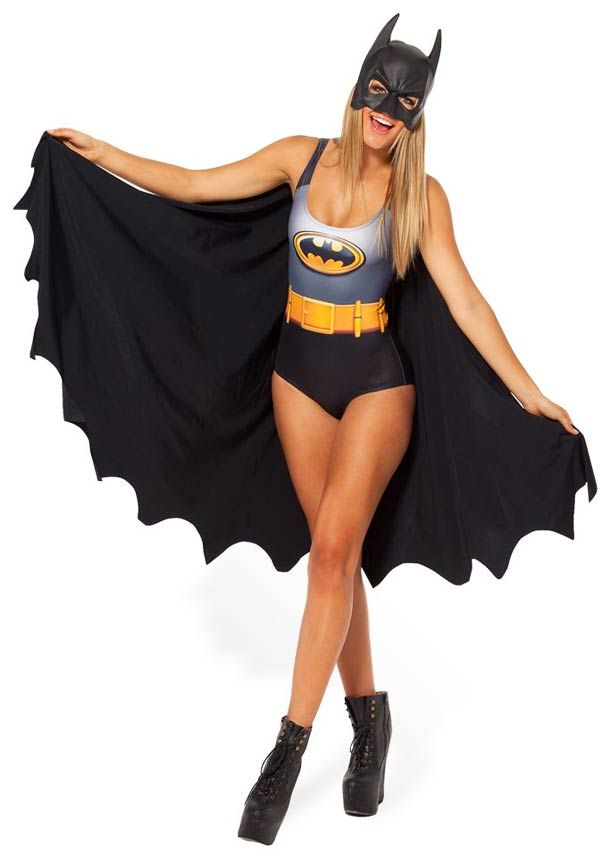 cc13a3f038 Assuntos Criativos  Roupas femininas inspiradas no Batman
