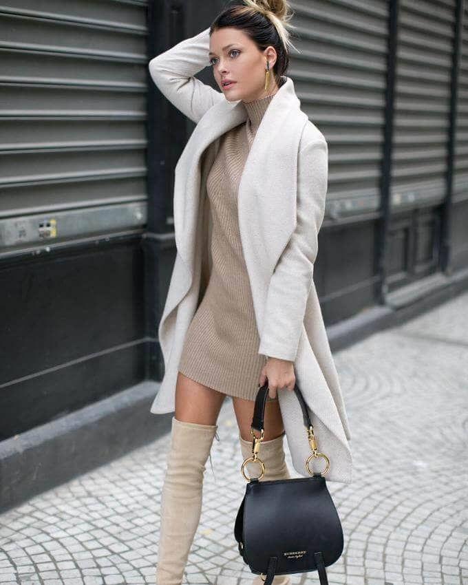 29 tenues d'automne super chics avec des bottes   Petramode.info