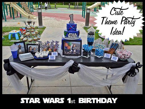 A Star Wars Birthday Party Cute Ideas Star wars birthday