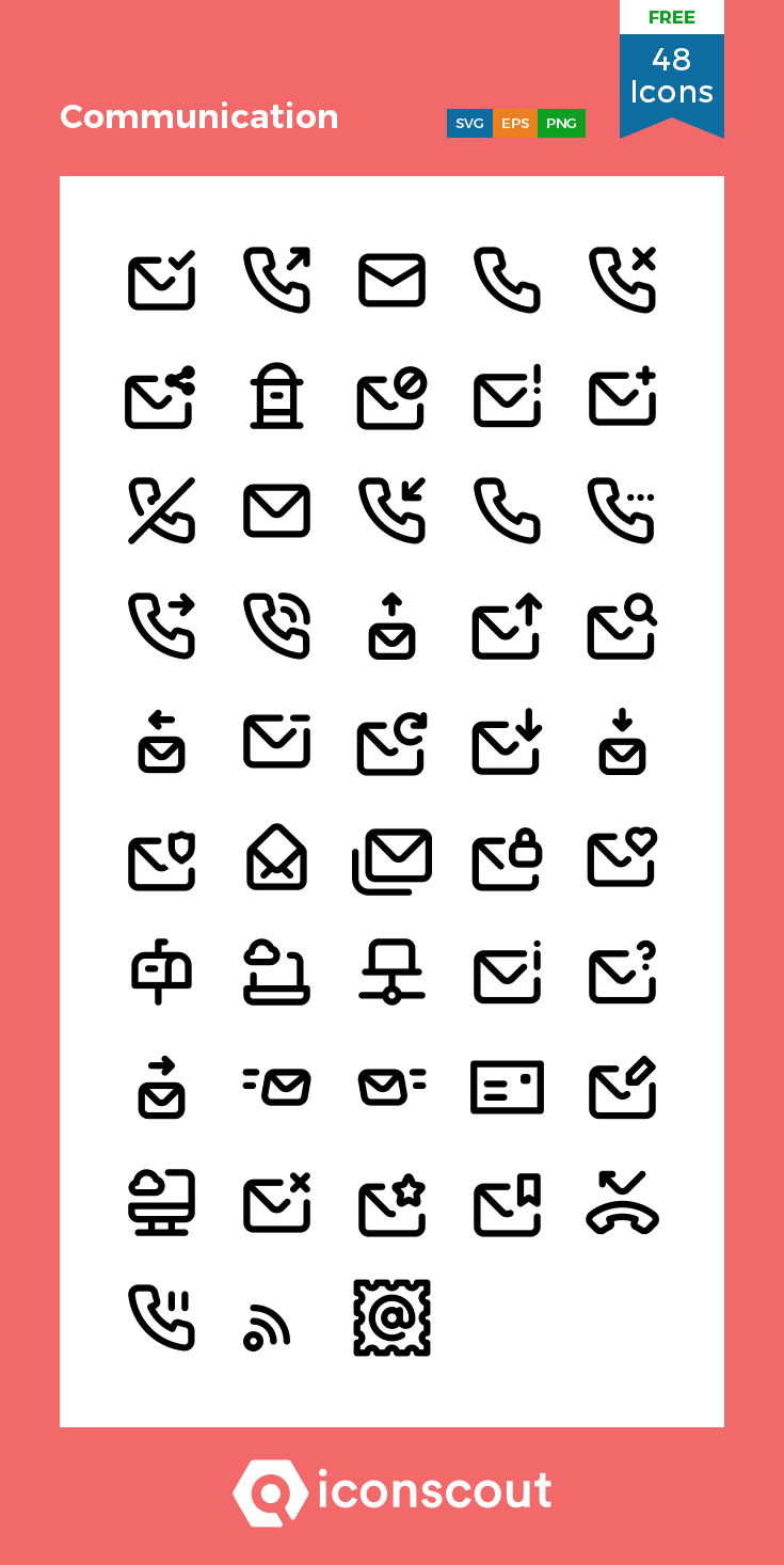 Download Communication Icon Pack Available In Svg Png Eps Ai Icon Fonts Communication Icon Free Icon Packs Icon Pack